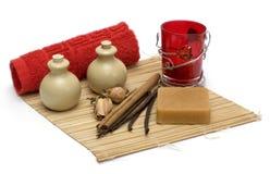 Aromatherapy & termas Imagem de Stock