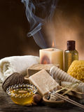 Aromatherapy And Spa Concept Royalty Free Stock Images