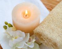 Aromatherapy. Pampering fragrance botanical botanics tranquil lavender stock photography
