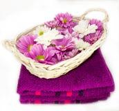 aromatherapy badrum Royaltyfria Bilder