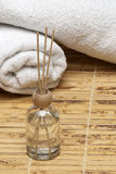aromatherapy bamboo diffuser scent spa πετσέτες Στοκ εικόνα με δικαίωμα ελεύθερης χρήσης