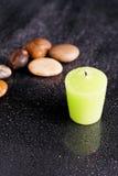 Aromatherapy Bath Candle Royalty Free Stock Image