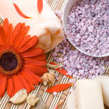 Aromatherapy and beauty treatment. Royalty Free Stock Photos