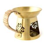 Aromatherapy burner isolated on white background Royalty Free Stock Photo