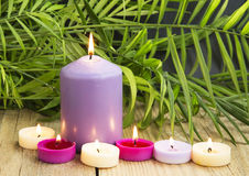 Aromatherapy Candles Royalty Free Stock Image