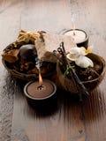 aromatherapy concept spa Στοκ Φωτογραφία
