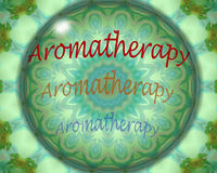 Aromatherapy design Royalty Free Stock Image