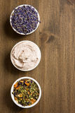 Aromatherapy ed oggetti della stazione termale Immagini Stock Libere da Diritti