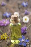 Aromatherapy en wetenschap royalty-vrije stock fotografie