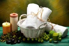 aromatherapy equipment spa προμήθειες Στοκ Εικόνα
