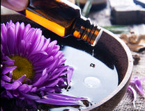 Aromatherapy.Essence Photos libres de droits