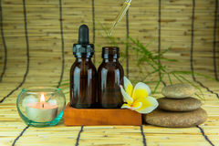 Aromatherapy essential oil Stock Photos