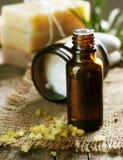 Aromatherapy.Essential Olie stock foto's
