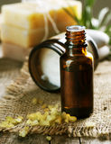 Aromatherapy.Essential Schmieröl Stockfotos