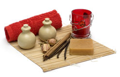 Aromatherapy et station thermale Image stock