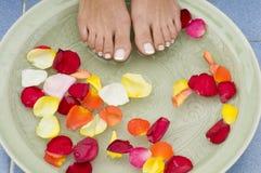aromatherapy feet spa ύδωρ 4 Στοκ φωτογραφία με δικαίωμα ελεύθερης χρήσης