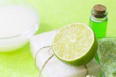 Aromatherapy green concept royalty free stock photos