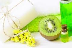 Aromatherapy groen concept stock fotografie