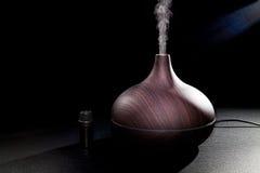 Aromatherapy Istotnego oleju aromata dyfuzoru nawilżacza rozprzestrzeniać Obraz Royalty Free