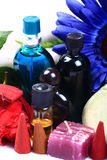 Aromatherapy items royalty free stock photo