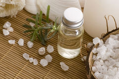 Aromatherapy items Stock Photos
