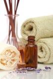 aromatherapy items spa Στοκ Φωτογραφίες