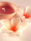 Aromatherapy Kerzen Lizenzfreies Stockbild