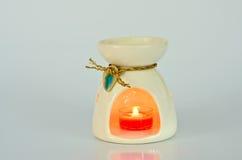 Aromatherapy lamp. Isolated on white background Royalty Free Stock Image