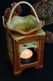 aromatherapy lampa arkivfoto