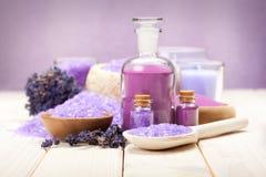 aromatherapy lavendel Arkivfoton