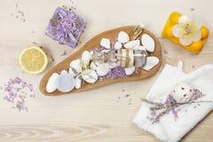 aromatherapy lavender λεμόνι Στοκ εικόνα με δικαίωμα ελεύθερης χρήσης