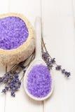 aromatherapy lavender επεξεργασία Στοκ φωτογραφία με δικαίωμα ελεύθερης χρήσης