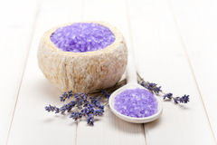 aromatherapy lavender επεξεργασία Στοκ Φωτογραφίες