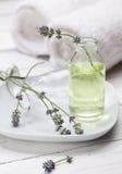 aromatherapy lavender πετρέλαιο Στοκ Εικόνα