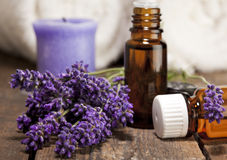 aromatherapy lavender πετρέλαιο Στοκ Εικόνες