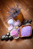 aromatherapy lavender Στοκ Φωτογραφία