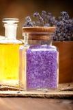 aromatherapy lavender Στοκ φωτογραφία με δικαίωμα ελεύθερης χρήσης