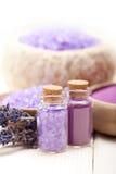 aromatherapy lavender minerals spa Στοκ Φωτογραφία