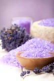 aromatherapy lavender spa Στοκ φωτογραφία με δικαίωμα ελεύθερης χρήσης