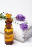 aromatherapy lawenda Fotografia Royalty Free