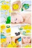 Aromatherapy, le station-centre et relaxation images libres de droits