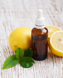 Aromatherapy lemon Stock Image