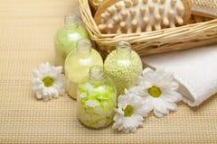 aromatherapy massage spa Στοκ φωτογραφία με δικαίωμα ελεύθερης χρήσης