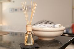 Aromatherapy, medicine east stock images