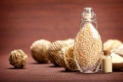 aromatherapy minerals spa βανίλια Στοκ Φωτογραφίες