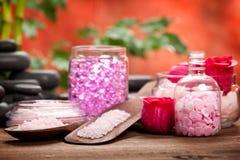aromatherapy mineralstenar Arkivbild