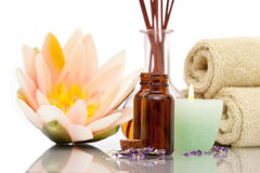 Aromatherapy objects Royalty Free Stock Photography