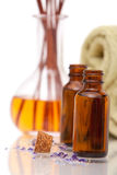 Aromatherapy objects Royalty Free Stock Image