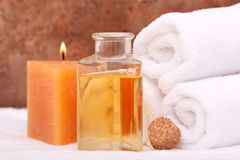 Aromatherapy objects Stock Images