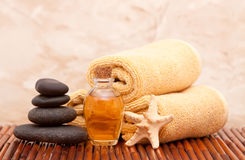 Aromatherapy Oil And Spa Items Stock Images